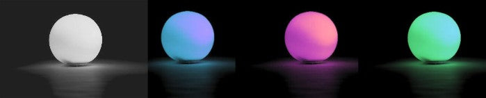 9 5 rgb color changing led globe battery op waterproof