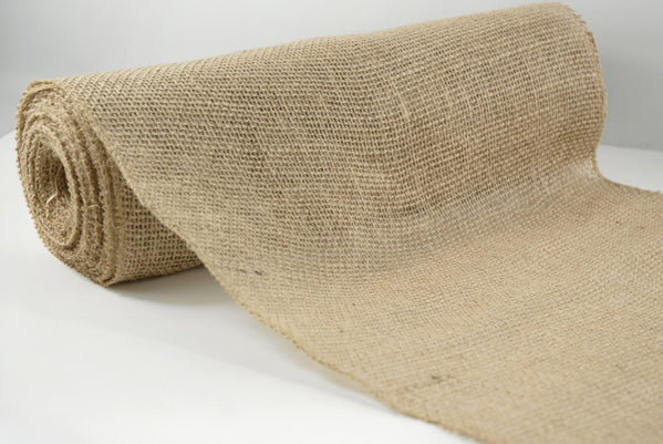 natural burlap jute roll fabric 14 wide 10 yards 30 foot