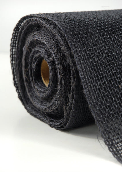 black burlap 14 x 10 yards