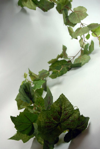 Silk Grape Leaf Garland 6ft