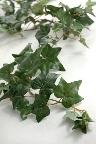 Ivy Garlands Silk 127 Leaves 6FT Puff Ivy Garland
