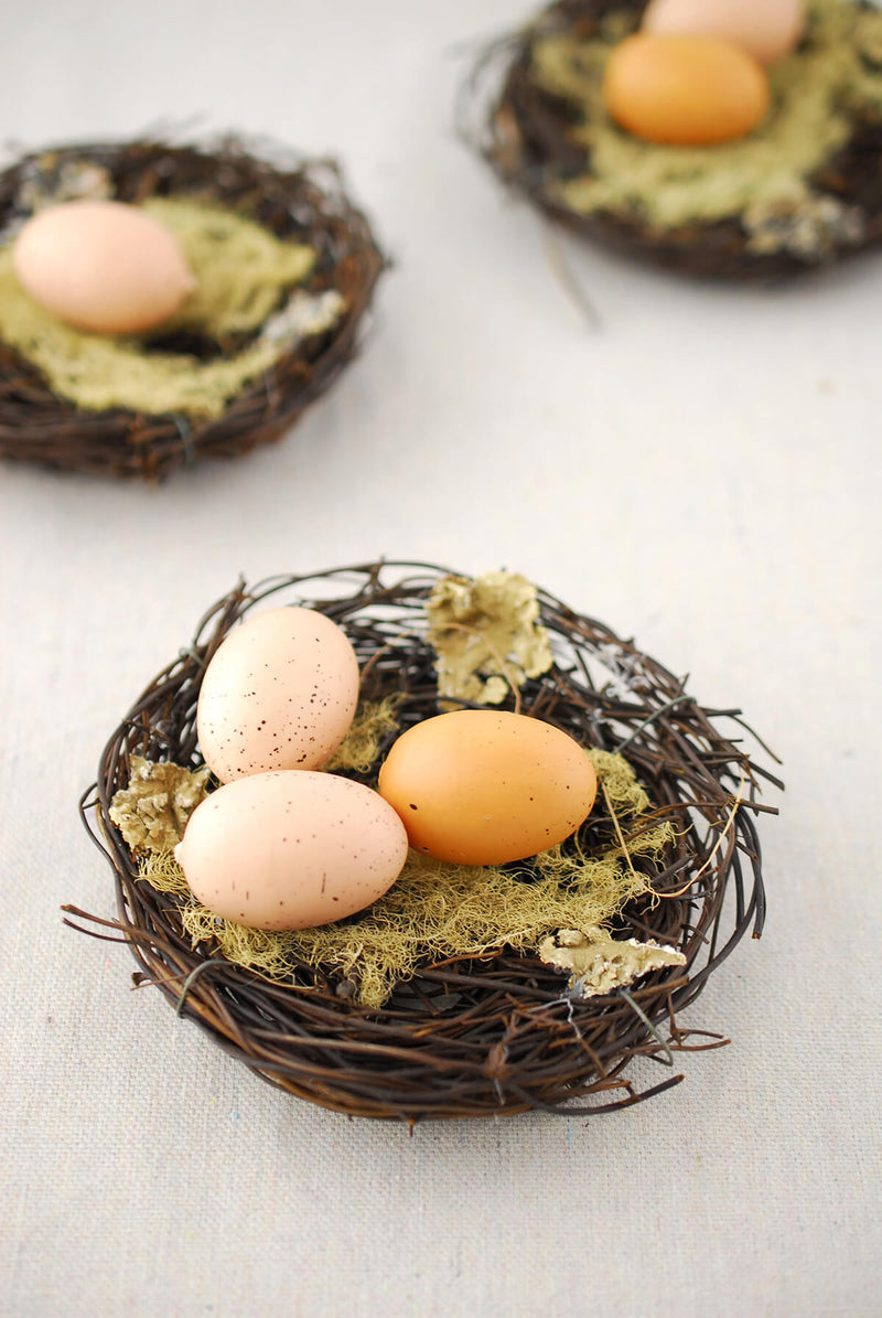 3 - 5 Inch Natural Grapevine Bird Nests