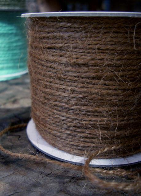 Brown Cording Jute  100yd