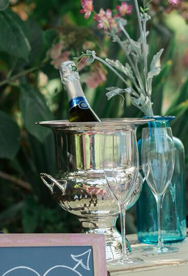 Richland Silver Plated Ice Bucket Champagne Bucket