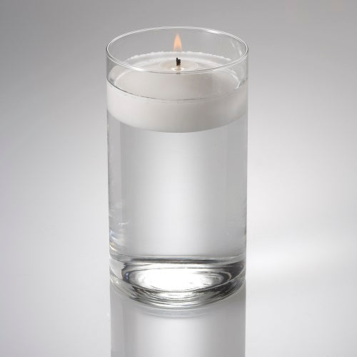 "Eastland Cylinder Floating Candle Holder 3.25""x6"" Set of 12"