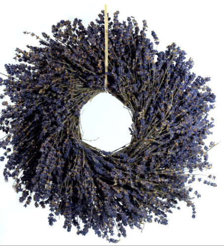 Fragrant Lavender Wreath 14in