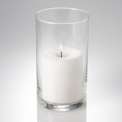 eastland cylinder pillar candle holder 3 25 x6