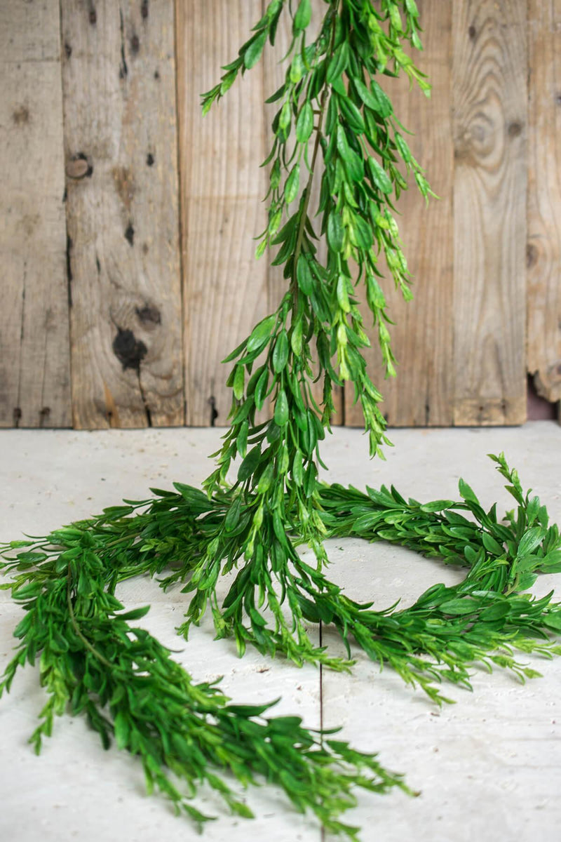 Myrtle Leaf Garland 6 Feet