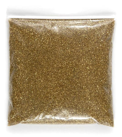 german glass glitter gold 1 lb bag
