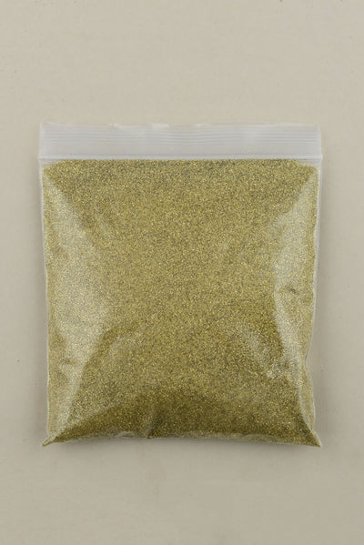 Glass Glitter Gold .2-.3mm 1lb