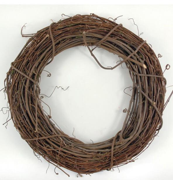 Grapevine Wreaths Natural 14 Inch