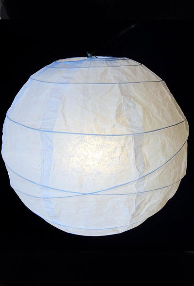 extra large white 36 white bamboo criss cross ribbed paper lanterns