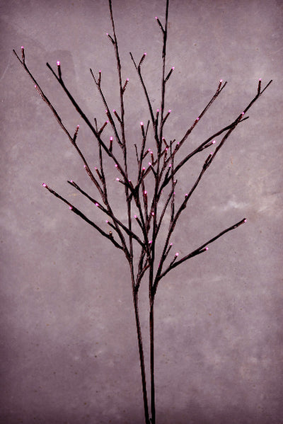LED Willow Branches Pink Battery Operated