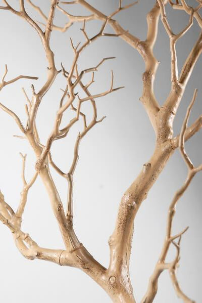 artificial 38 manzanita tree branch tan