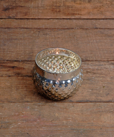 Silver Mercury Glass Votive Holder 2in (Set of 12)