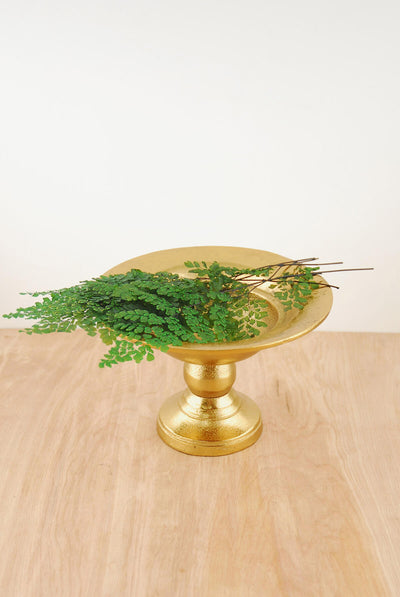 Metal Compote Gold