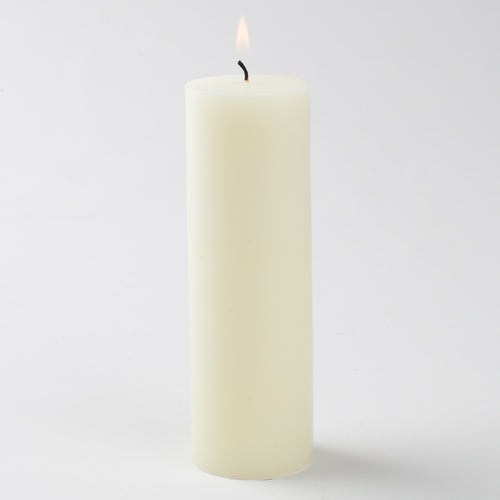 ivory pillar candle 2x6 6023 40