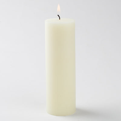 ivory pillar candle 2x6 6023 01