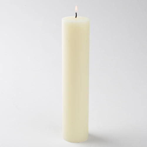 ivory pillar candle 2x9 6025 10