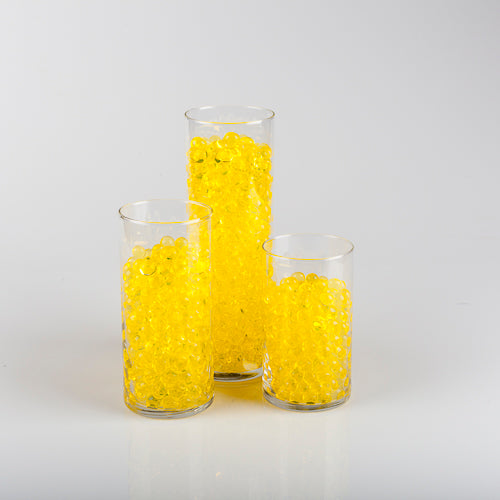 Eastland Yellow Water Pearls Vase Fillers Pack of 12