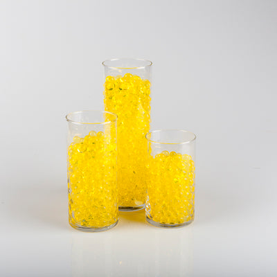 yellow water pearls vase fillers 7130 12
