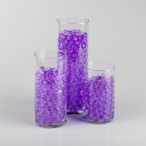 Eastland Purple Water Pearls Vase Fillers Pack of 72