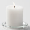 "Richland Pillar Candles 3""x3"" White Set of 48"
