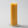 "Richland Pillar Candle 3""x9"" Yellow"