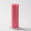 "Richland Pillar Candles 3""x9"" Pink Set of 24"