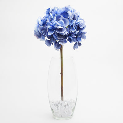 "Richland Dark Blue Hydrangea 19"" Set of 12"