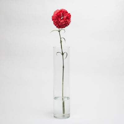 "Richland Red Carnation 27"" Silk Flowers"