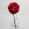 "Richland Red Carnation 27"" Silk Flowers Set of 24"