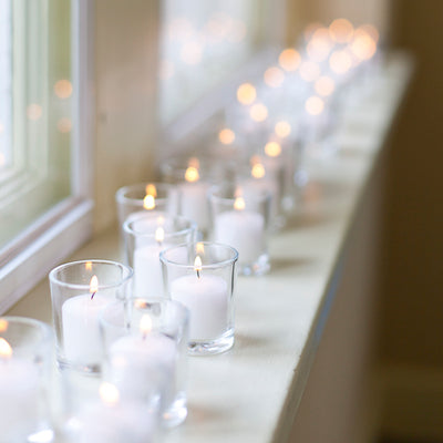 votive candles holders set 72