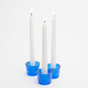 Richland Multi-Use Tealight and Taper Holder Blue Set of 72