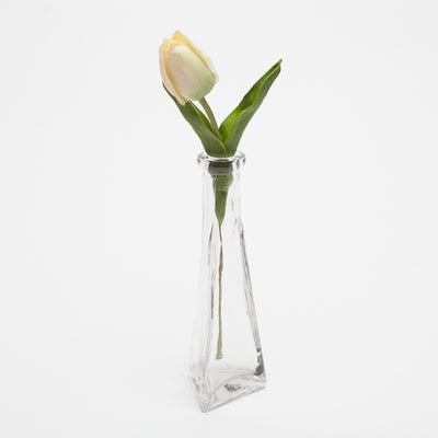 richland tapered triangle bud vase 6 5