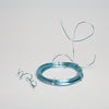Eastland Aluminum Decorative Wire Light Blue 39 Feet