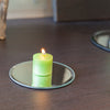 richland votive candles unscented green 10 hour set of 12