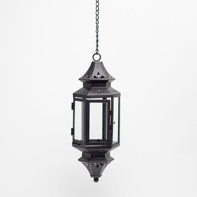 richland hanging decorative metal lantern