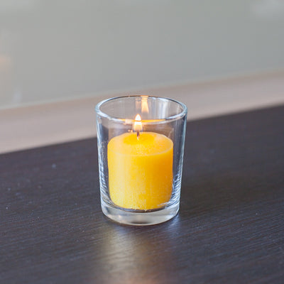 Richland Votive Candles Unscented Yellow 10 Hour Set of 72