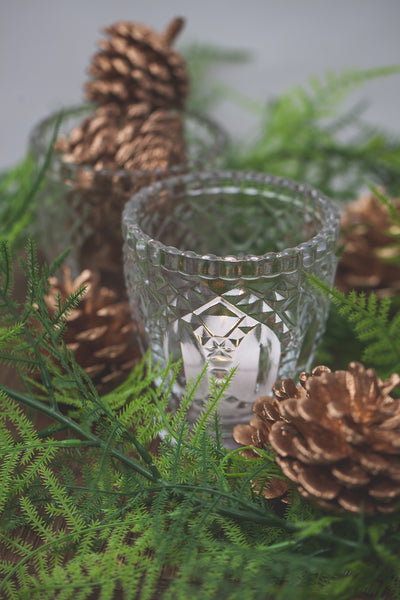 Richland Glass Textured Votive Holder Set of 36