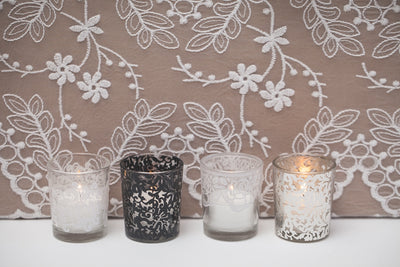Richland Silver Lace Votive Holder Set of 72