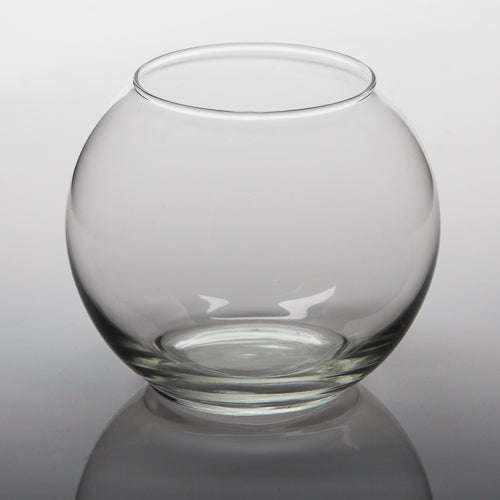 "Eastland Bubble Ball Vase 5.5"" Set of 4"