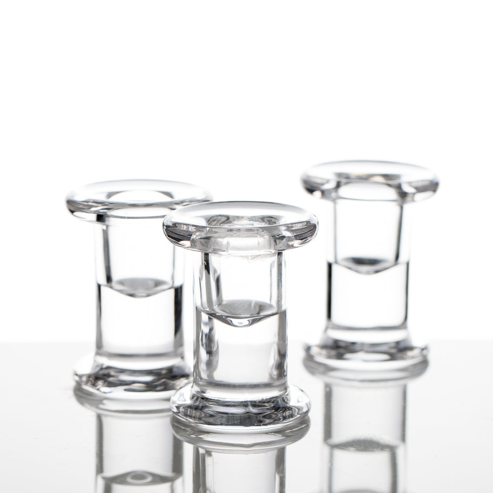 Richland Simple Glass Taper Candle Holder Set of 72