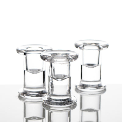 Richland Simple Glass Taper Candle Holder Set of 6