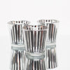 richland silver stripe glass holder medium set of 48