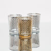 Richland Silver Lattice Glass Holder - Small Set of 72