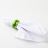 lime green napkin ring 9507 04