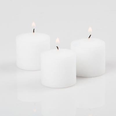 Richland Votive Candles Unscented White 10 Hour Set of 144