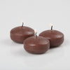 "Richland Floating Candles 2"" Brown Set of 72"