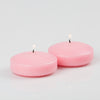 richland floating candles 3 pink set of 12